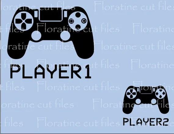 Download Player Matching Shirt Gamer SVG File DIY Iron on T shirt SVG
