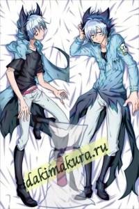 Anime Servamp: Kuro Sleepy Ash Sloth Dakimakura 50x150cm