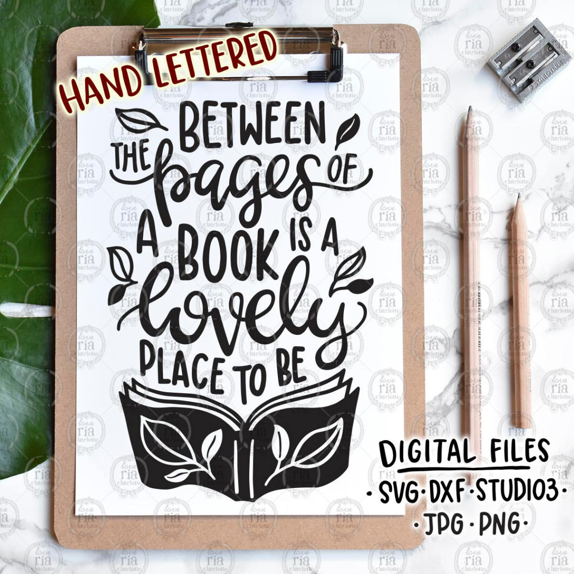Download Between the pages book lover bookworm reading quote digital