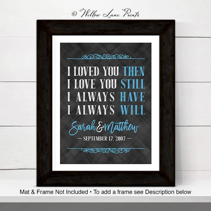 30th Anniversary Gift For Wife Or Husband 30th Wedding
