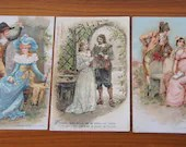 Set of Three Romantic Pos...