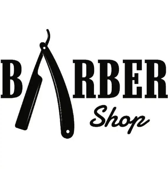 barber logo 21 salon haircut