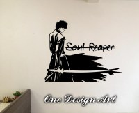 Bleach Wall decal Ichigo with Soul Reaper home decor anime