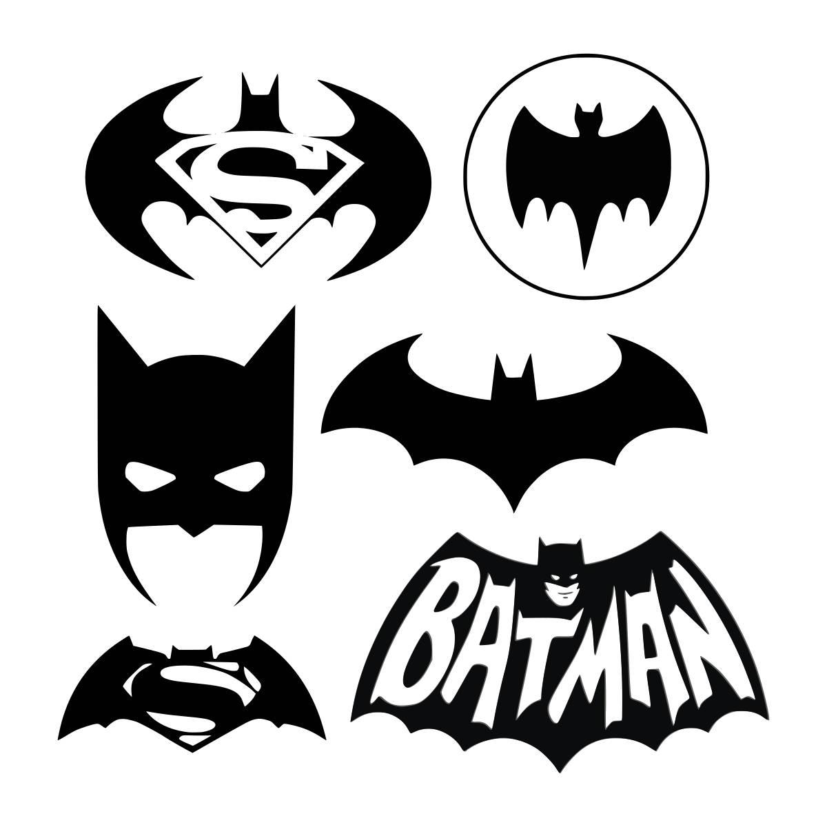 batman svg unique design