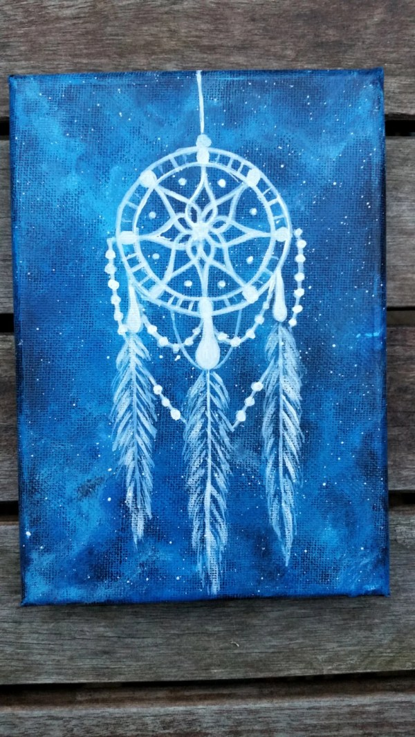 Dreamcatcher Painting Canvas Native American