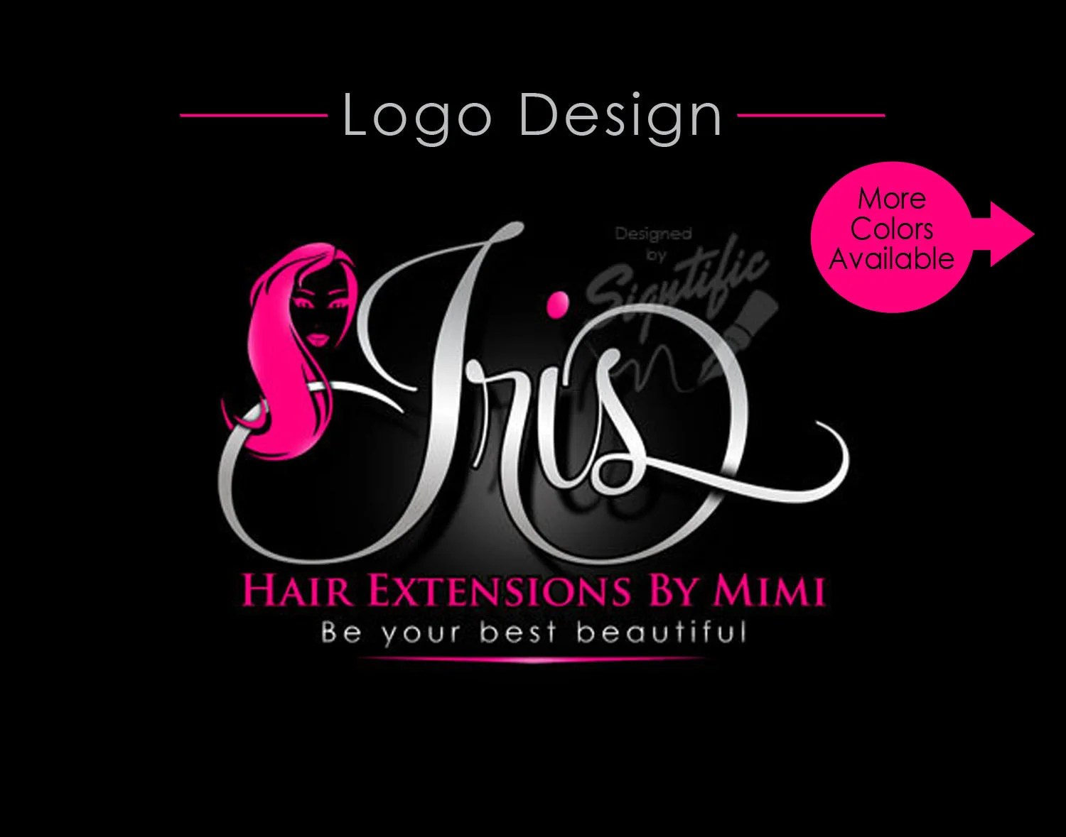 hair extension logo virgin