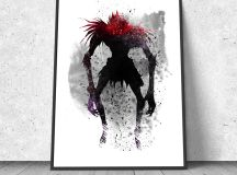 Ryuk Shinigami Death Note watercolor illustration giclee