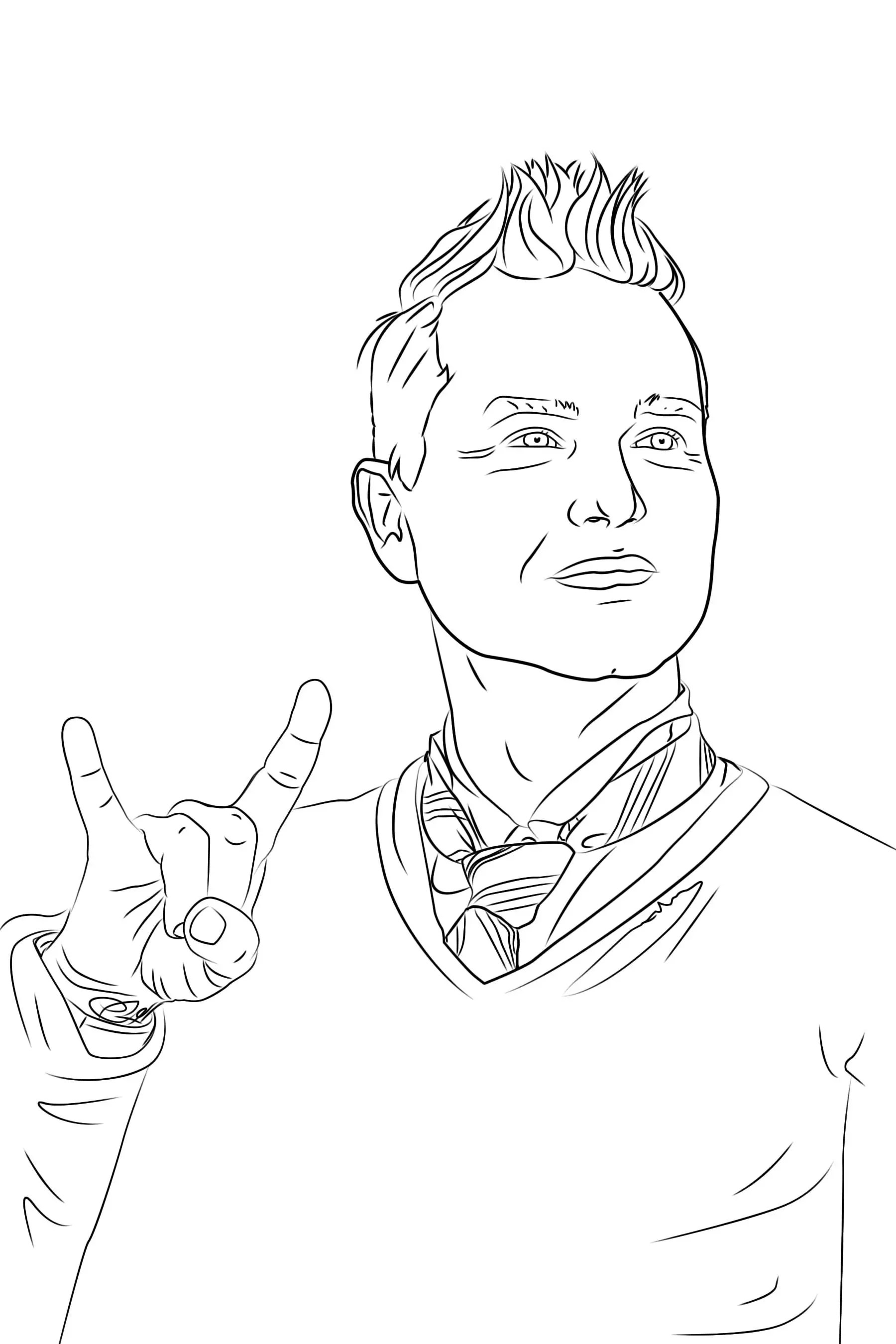 The Pop Punk Coloring Book: Second Edition