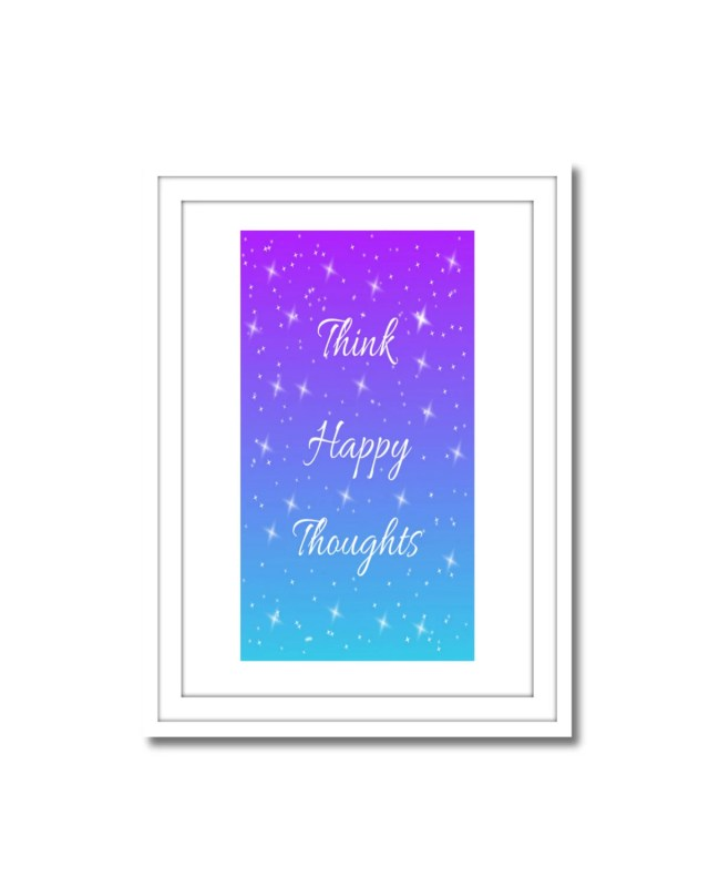 Think Happy Thoughts, Pri...