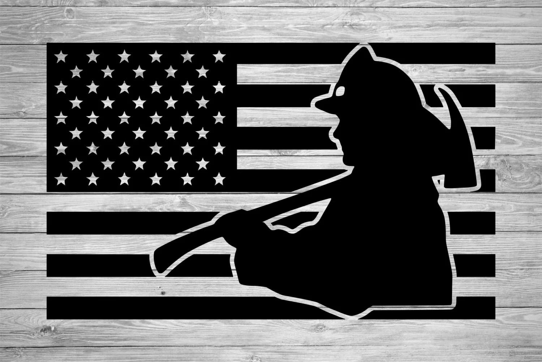 american flag watermarks