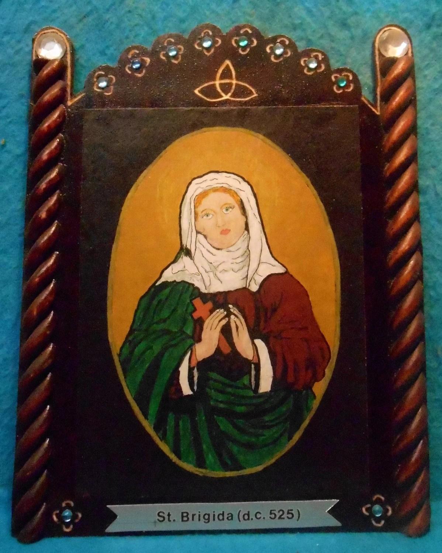 St. Brigid Of Ireland Bust