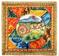Carretto Siciliano Disegno Da Colorare