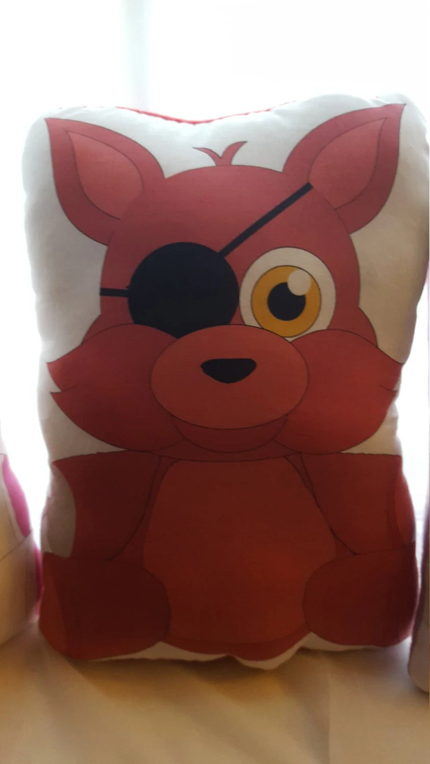 Five Nights At Freddys Foxy Plush Pillow