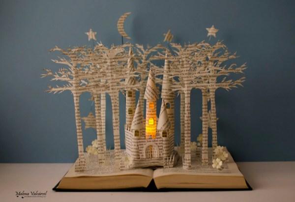 Altered Book Sculpture Art