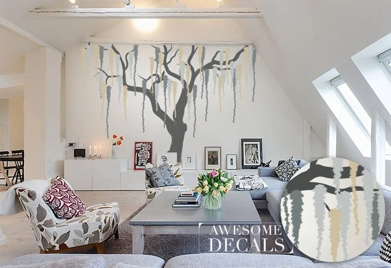 Weeping Willow Wall Decal by AwesomeDecals