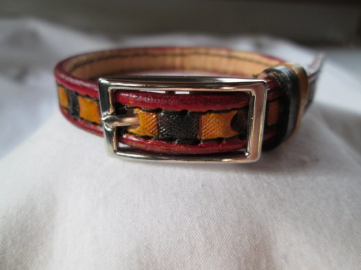 Small handmade leather do...