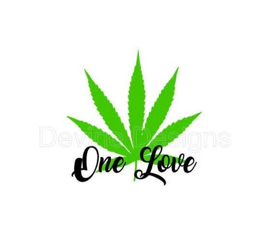 Download One Love SVG FILE