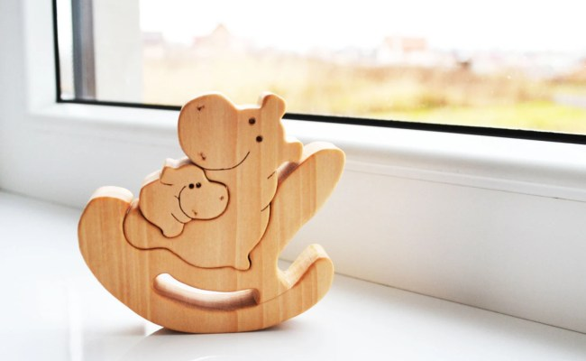 Wooden Toys Animal Puzzle Mother S Day Wooden Puzzle