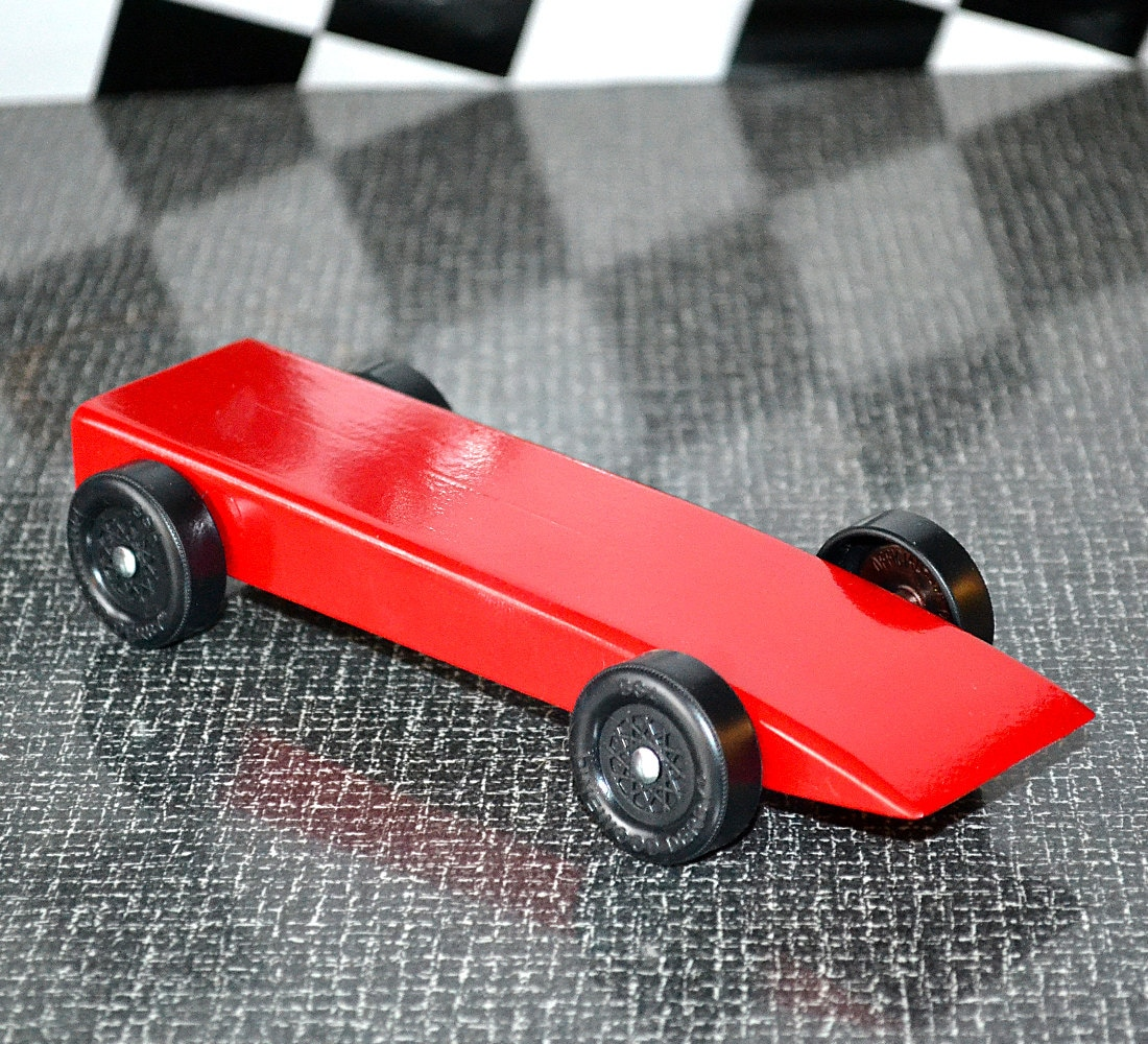 Fast Pinewood Derby Car From Official Bsa Cub Scout Derby Kit