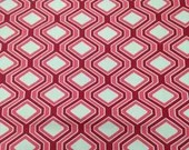 4 Yards Red Hexagon Home ...