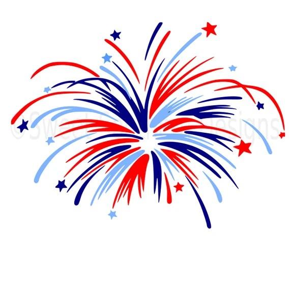 Download Monogram fireworks fourth of July Memorial Day SVG instant ...