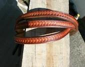 Ladies belt , custom leat...