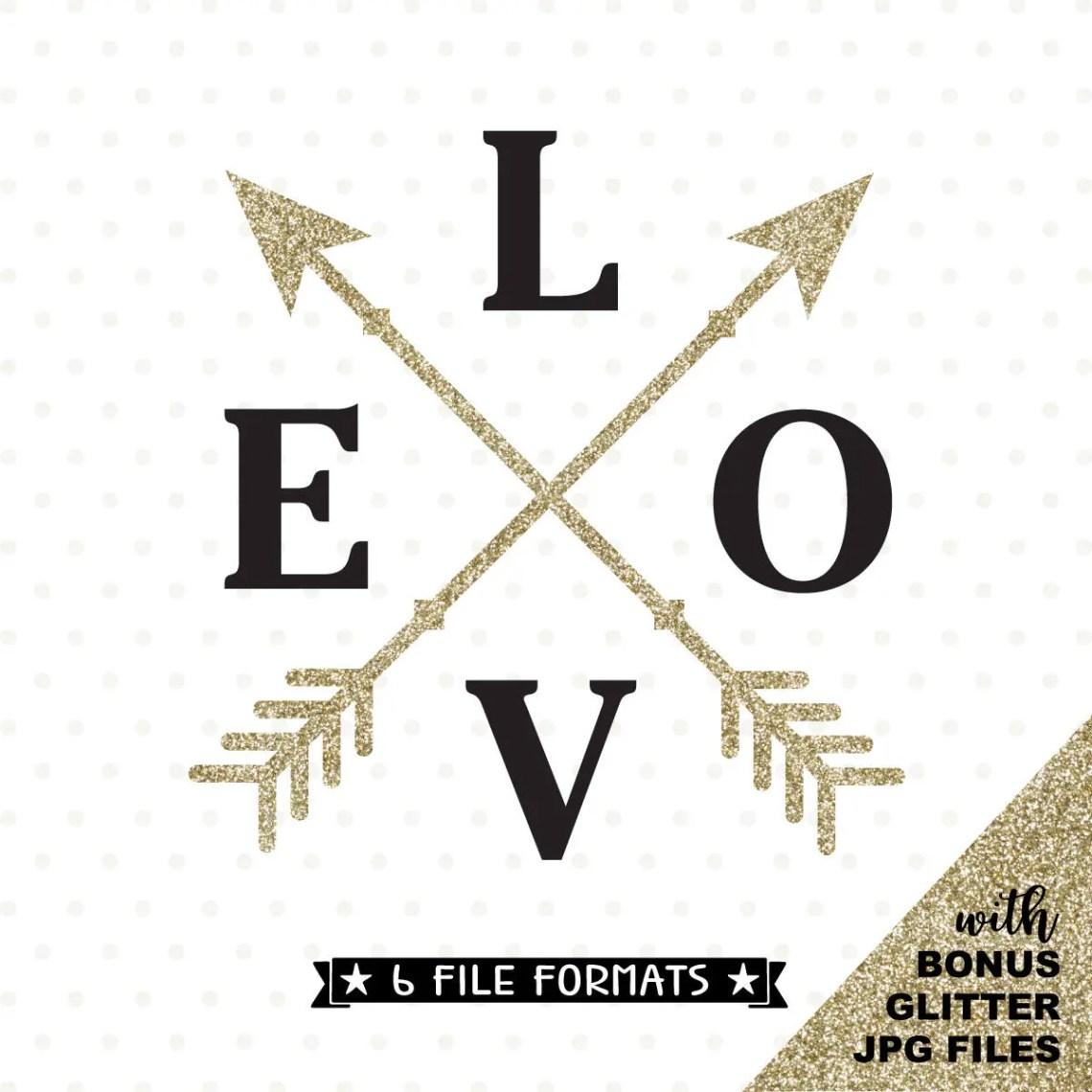 Download Love svg Valentines Day SVG Love Arrows SVG Love cut file