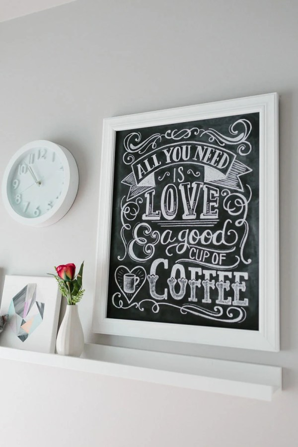 Mom Coffee Lover Sign