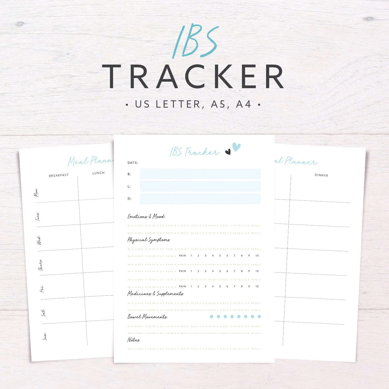 IBS Tracker Food Diary Allergy Diet Tracker Meal
