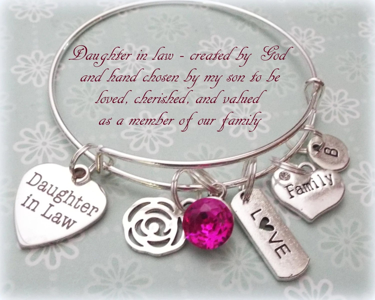 Daughter In Law Gift Wedding Gift For New Daughter