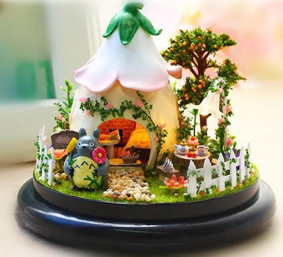 miniature dollhouse diy kit fairy
