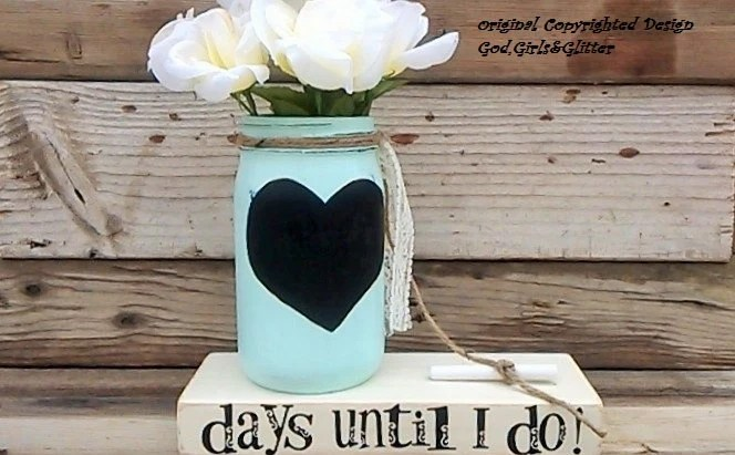 Wedding Countdown-Engagement Gift-Chalkboard Countdown-Unique