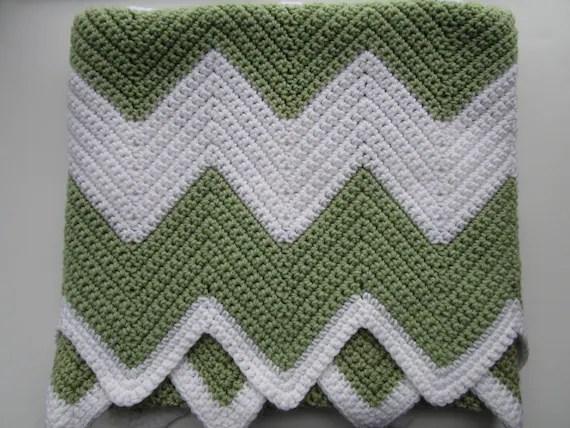Chevron Single Crochet Afghan Pattern