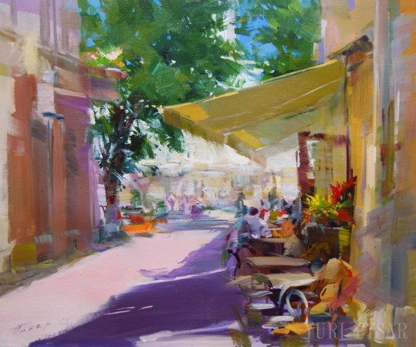 Bright Colorful Canvas Paintings