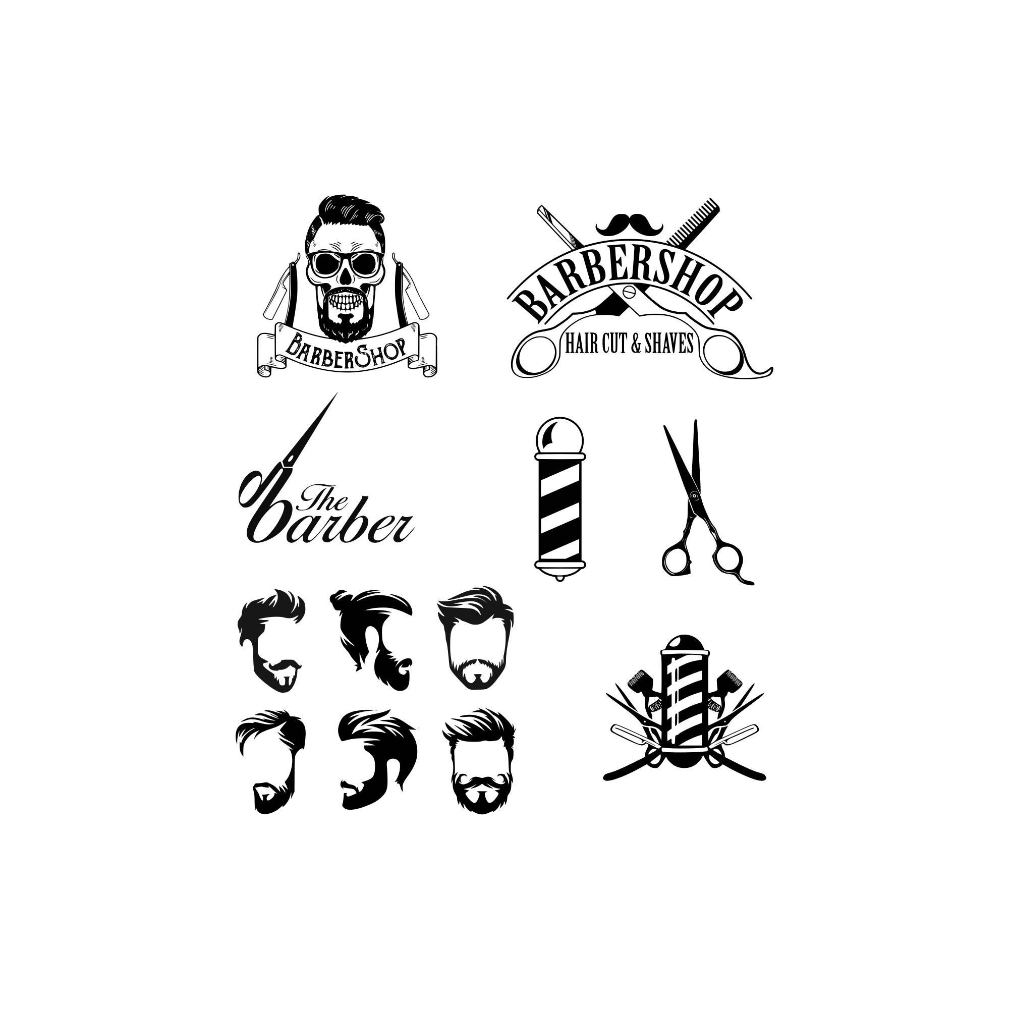barber svg hairdresser