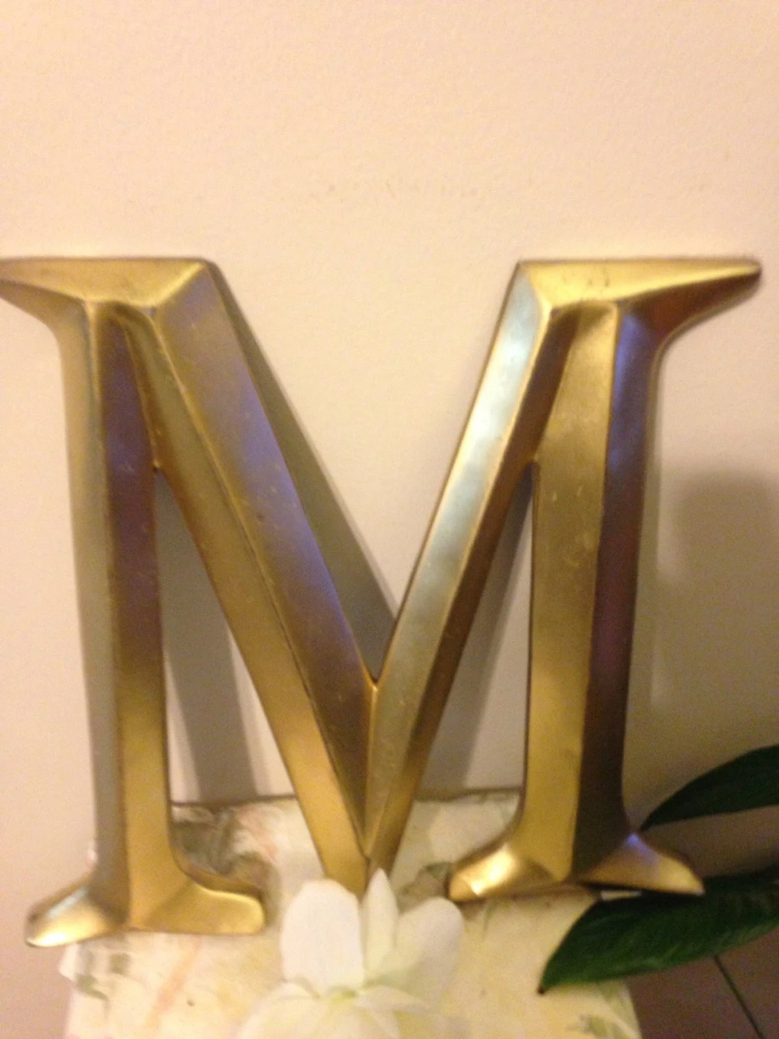 Large Letter Wall Decor Letter Wall Decor Wedding Prop