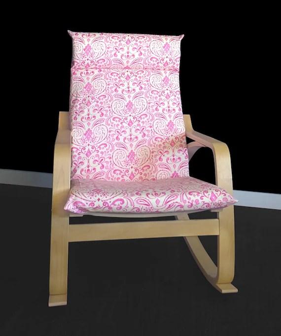 poang chair covers golden inc floral ikea poÄng cushion cover kumari garden marala pink