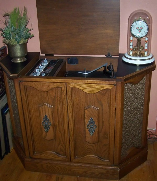 Old Sears Silverstone Console Stereo - Year of Clean Water