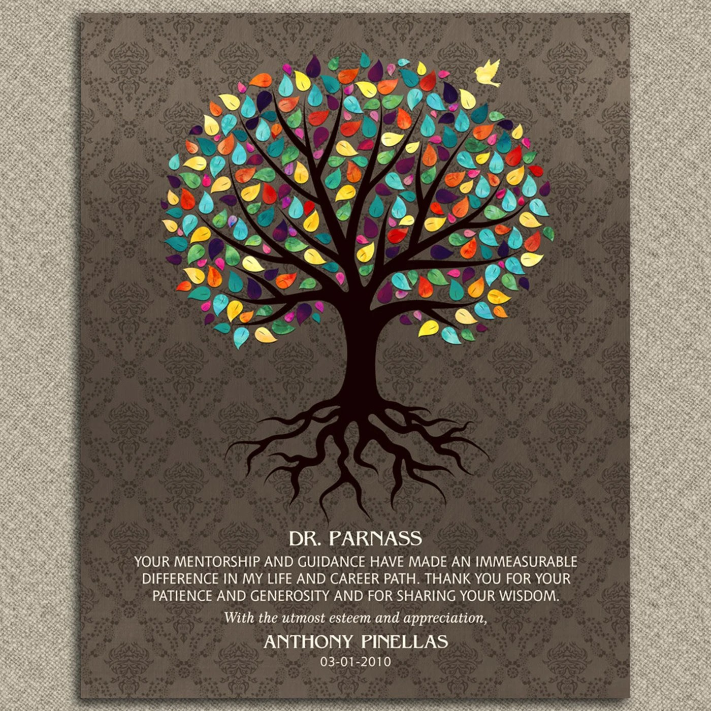 Gift For Mentor Personalized Gift Gift For Doctor
