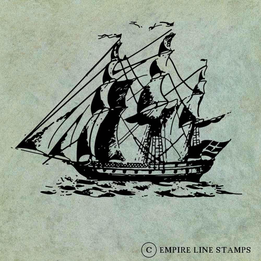 Sailing Ship - Antique St...