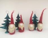 Set of 4 mini ornaments. ...
