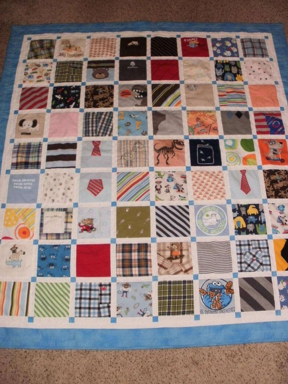 Memory Quilt Patterns