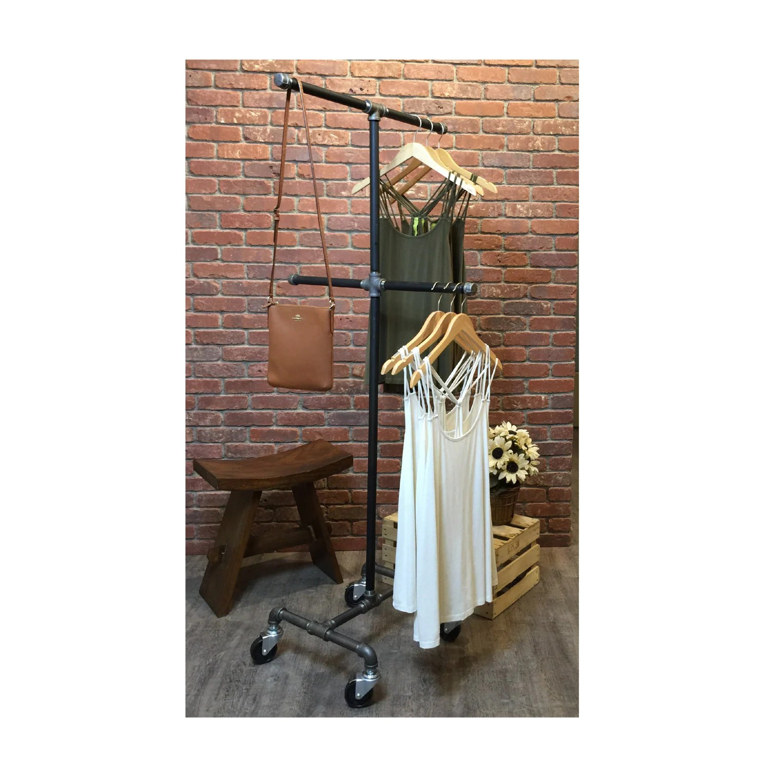 Clothes Rack Rolling Clothing Garment