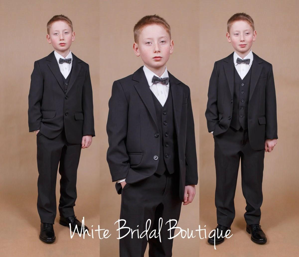 Communion Suit Ring Bearer Navy Boy