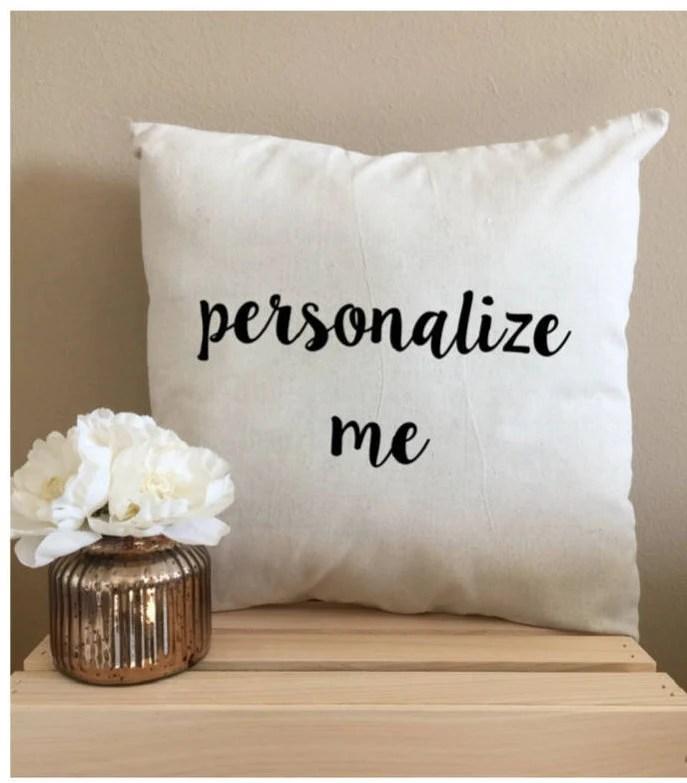 Customizable Pillows
