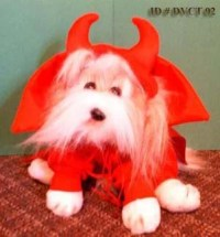 Devil Dog Costume Devil Halloween Dog Costume Devil Puppy