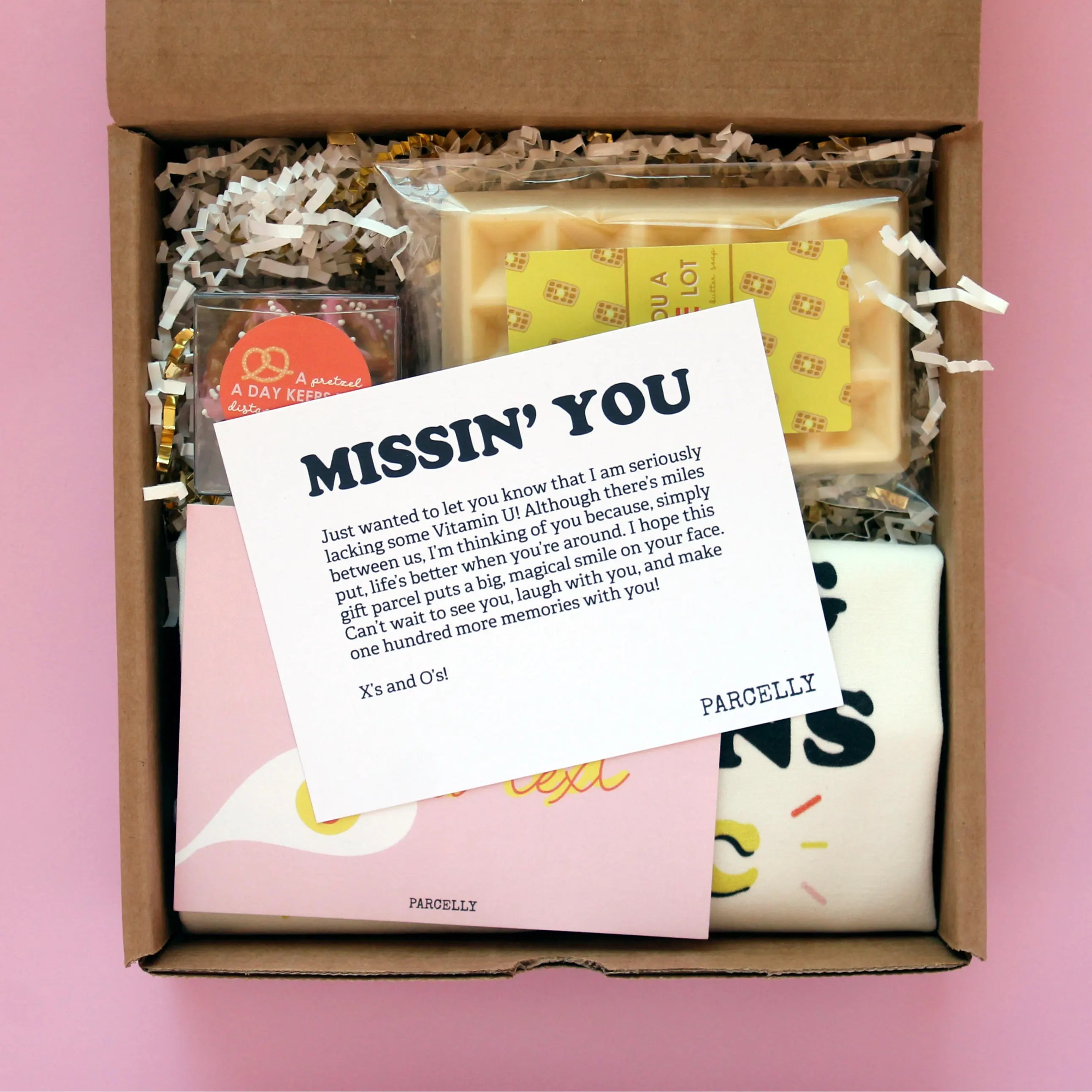 Long Distance Friendship Gift Miss You Gift I Miss You Care