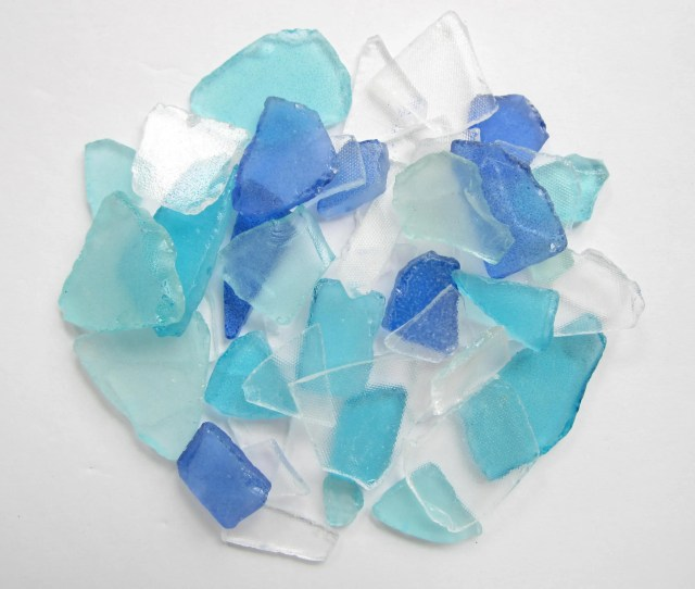 Sea Glass Mix Beach Glass Assorted Colors Sea Glass Bulk Craft Supplies