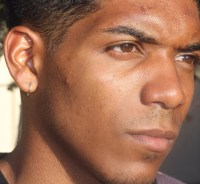 Men Gold Hoop Earring Solid Gold Earring Men Small Gold