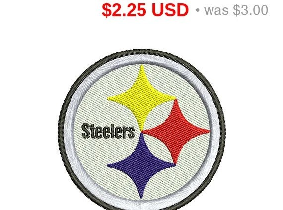 steelers embroidery